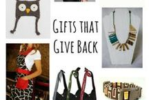 gift ideas / by Rebecca Brandt At Mom's Mustard Seeds