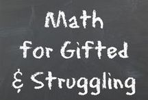Homeschool Math / by Rebecca Brandt At Mom's Mustard Seeds