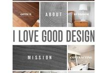 Design / I love things that look pretty and are well designed for their intention. This is a collection of things like that. / by Beth Stedman