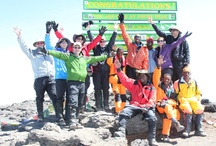 19,341 Club / A collection of photos of Thomson Trekkers at the summit of Mount Kilimanjaro (19,341 ft.) / by Thomson Safaris