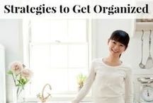 Organization Tips / Organization tips for your home, family, schedule, and meal planning. / by Alea Milham | Premeditated Leftovers