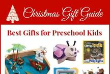 Christmas gifts for Preschool kids (ages 3-5) / The best gifts for preschoolers  / by Frugal Living NW