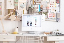 Pretty Office Design / by Such Pretty Things (by Jessica Enig)