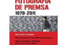 Dani Duch: Fotografia de premsa 1979-2011 / L'exposició es pot visitar del 3 al 27 d'octubre de 2012. El 1979, Dani Duch va començar a treballar com a fotògraf editor al diari gironí El Punt.  L'any 1984, així, es convertí en editor i cap de Fotografia del Diari de Girona, càrrec que va compaginar amb la seva tasca com a corresponsal de l'agència EFE i fotògraf de guerra a diversos països en conflicte d'Amèrica Central i Amèrica del Sud. Posteriorment va ser corresponsal del Diario 16 Extret del web de Dani Duch: http://www.daniduch.com/ / by Expovirtual @bibliolloret