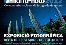 MontPhoto 2012 / Concurs Internacional de fotografia de natura. L'exposició es pot visitar del 6 de desembre al 3 de gener a la Sala d'exposicions de la Casa de la Cultura / by Expovirtual @bibliolloret
