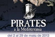 Pirates a la Mediterrània / A Catalunya, la pirateria ha tingut un paper important ja que va condicionar entre d'altres el poblament de la costa, l'economia, etc. A banda, la pirateria i el corsarisme ha deixat la seva emprenta a la memòria popular a través de les llegendes.  Pirates de la Mediterrània ens farà recordar aquesta part de la història. Podeu visitar l'exposició del 2 al 29 de maig de 2013 / by Expovirtual @bibliolloret
