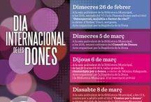 Dones i literatura. 8 de març 2014 / Exposició pel Dia Internacional de les Dones / by Expovirtual @bibliolloret