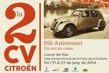 La 2 CV Citroën. 65è Aniversari: Un art de viure / Exposició sobre 2 CV  / by Expovirtual @bibliolloret