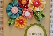 Scrapbooking-Cards ♥ / Anybody can buy a card...make it special! / by Robyn Holstein