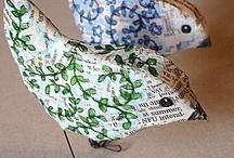 diy.......paper crafts\decopage / by Sandra de Jager