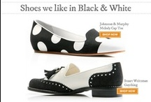 Shoes | Black & White Lady / Shoes we like in black and white. / by Arthur Beren Shoes