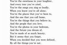 words / by elisha watkins