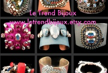 """Le Trend Bijoux / Fabulous Handcrafted Jewelry Designs SHOP www.letrendbijoux.etsy.com.   """"Like"""" me on Facebook www.facebook.com/letrendbijoux  **Please feel free to pin posts relevant to Jewelry, Accessories, and Fashion.  All other posts will be removed. Thanks!! / by Le Trend Bijoux"""