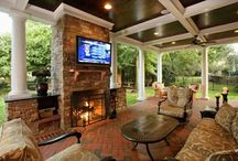 Home Addition Ideas / Outdoor Kitchen Leisure Room & Closet Addition Ideas/How To's/Decoration/Organization  / by Cheryl Wood