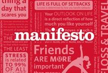 lululemon | manifesto / our manifesto | a collection of statements that reflect our culture, our goals and our lives  / by lululemon