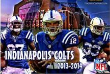 COLTS, GO BLUE / by Sharon Ray