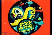 Posters / Toutes les affiches de Rock en Seine depuis sa création !  / by Rock En Seine