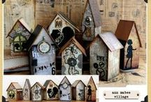 Bird Houses / Pretty Birdhouses for Your Pretty Birds / by The Burds Nest