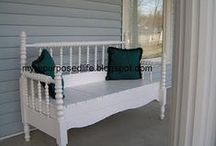 Out Door Furniture / Relaxing Outside  / by The Burds Nest
