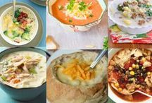 Food...CrockPot and soup recipes to try / by Linda Fehr Meilink