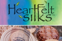 HeartFelt Silks Felt Art and Felting Tools / HeartFelt Silks is Artistry in Silk and Fine Wool, and Woodcraft Felting Tools for Fiber Enthusiasts. / by HeartFelt Silks