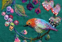 Embroidery  / by Gail Blanchard - Daniels