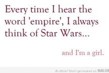 Star Wars / by Michelle Frae Cummings