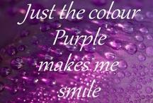Purple / by Ann Thompson