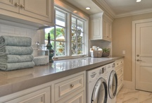 Pretty Laundry Rooms / by GreyLaneHome