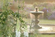 Indoor Outdoor Floral Garden Rooms / Indoor Outdoor garden flower vinette setting for sitting. / by Marilyn Martin