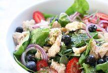 Food - Salads / by Rosa Balzamo