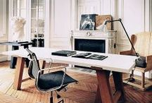 Home Office / Do your best work from home in a space that's both functional and visually appealing.  A custom desk or built-ins can make the space one you look forward to working at. / by CustomMade