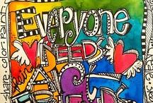 Zentangle, Doodles & Art Journaling / by Katy Winter