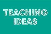 Teaching | Ideas / #teacher #teaching #elementaryschool #art #fun #school #beingateacher / by Jordan Combs ♥
