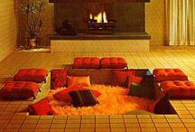 HOME /// Mid century interior / by Martine van Straelen