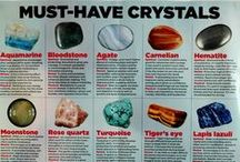 Crystals/Gemstones / by Tricia Janzen
