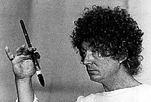 Brett Whiteley at work / (7 April 1939 – 15 June 1992). Australian Surrealist and Neo-expressionist portrait and landscape artist. He was the youngest artist to have work bought by TATE Modern and the only artist ever to simultaneously win the Archibald, Sulman and Wynn prizes (1978). / by Harry Kent
