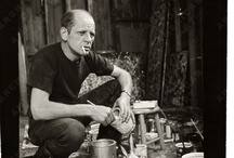 Jackson Pollock at work / by Harry Kent