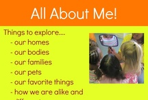 Classroom Theme - All About Me / by Karin Cameron