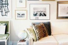 living room & studio / cozy cottage meets artsy loft meets swedish minimalism / by Tyler Feder