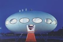 Past Visions of the Future / What my predecessors thought the future would hold.  And, I don't care what the people say, sometimes I wished I lived in a world of streamline moderne zeppelin flight. / by Marie Watkins Crocker