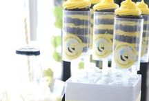 Bee theme Baby Shower / A Bee theme Baby Shower is so fun for boy or girl!  Color coordinate with all your yellow and black decorations and have a buzzzin' fun time!  We put together this board to inspire you to have a bee baby shower. / by Modern-Baby-Shower-Ideas.com