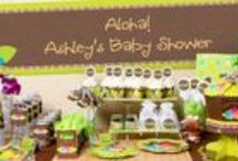 Luau Baby Shower / Luau Baby Shower Ideas / by Modern-Baby-Shower-Ideas.com