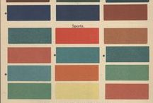 Colour palettes / by ✹ Leen Marie ✹