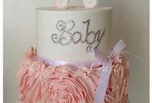 Baby Shower Cakes / We put this board together for some creative ideas to help you plan your baby shower cake! / by Modern-Baby-Shower-Ideas.com