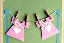 Baby Shower Clothesline Decoration / by Modern-Baby-Shower-Ideas.com