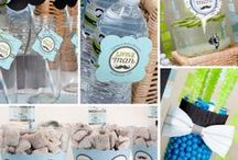 Little Man Baby Shower / Little Man Baby Shower Ideas / by Modern-Baby-Shower-Ideas.com