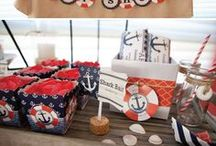 Nautical Baby Shower / Nautical Baby Shower Ideas / by Modern-Baby-Shower-Ideas.com