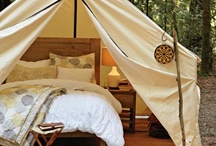 MY Glamping / Glamping: (v) Camping while glamorous, a felony in some states. / by Stephanie Stiavetti @ The Culinary Life