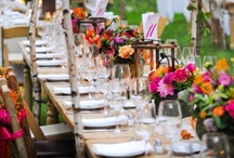 Entertaining and Place Settings / I have a thing for gorgeous table settings and party setups. I hope you enjoy them, too! / by Stephanie Stiavetti @ The Culinary Life